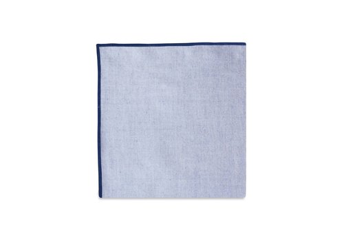 Pocket Square Clothing The Merrow (Navy Chambray) Pocket Square