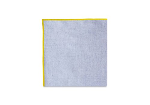 Pocket Square Clothing The Merrow (Yellow Chambray) Pocket Square