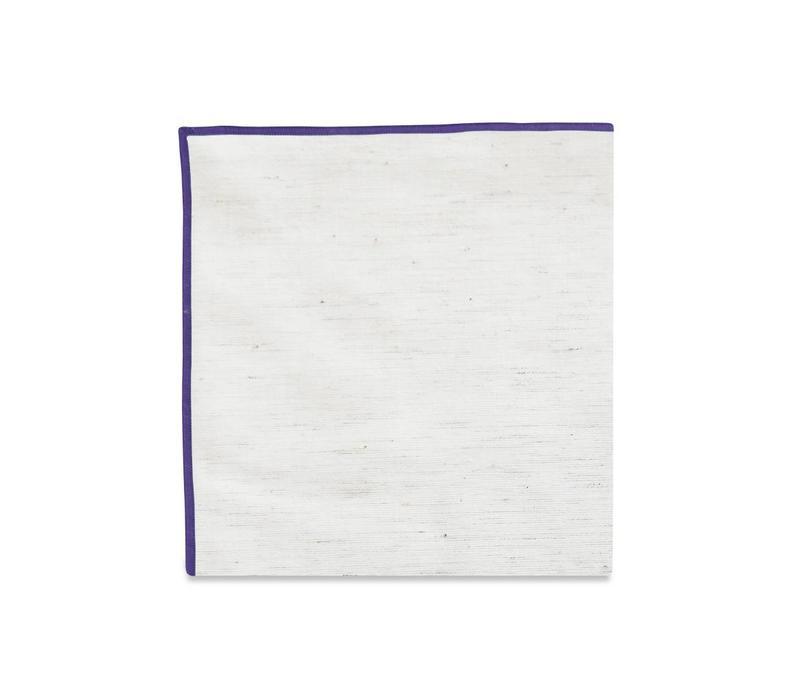 The Merrow (Purple) Pocket Square