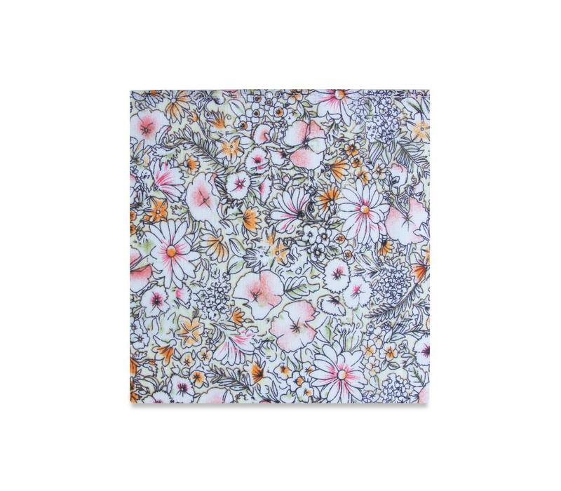 The Olivia Floral Pocket Square