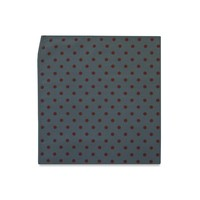 The Wright Polka Dot Pocket Square