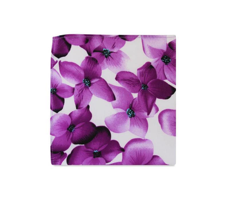The Alina Floral Pocket Square