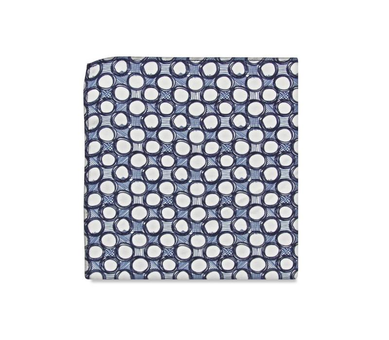 The Fabien Silk Pocket Square