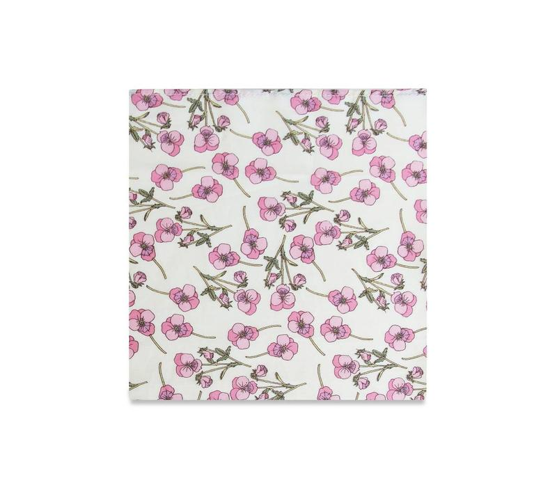 The Madeline Floral Pocket Square