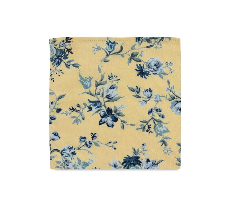The Margo Floral Pocket Square