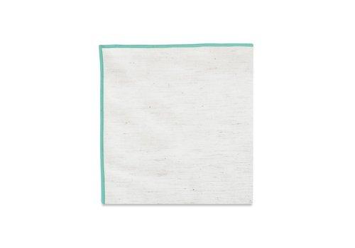 Pocket Square Clothing The Merrow (Mint) Pocket Square