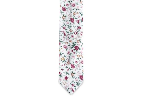Pocket Square Clothing The Antoinnette Floral Tie