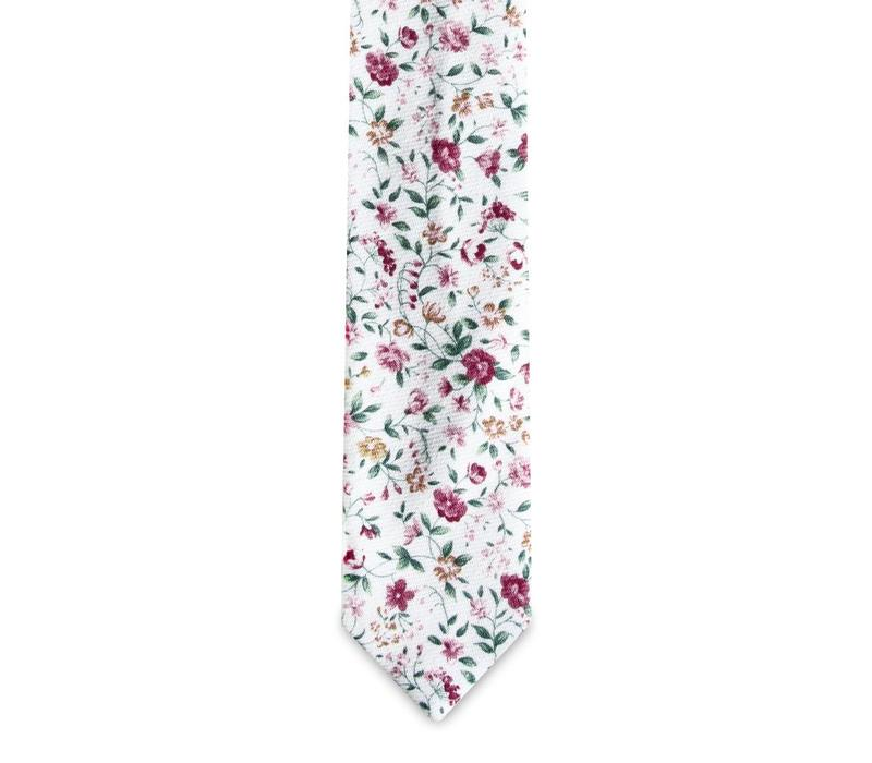 The Antoinnette Floral Cotton Tie