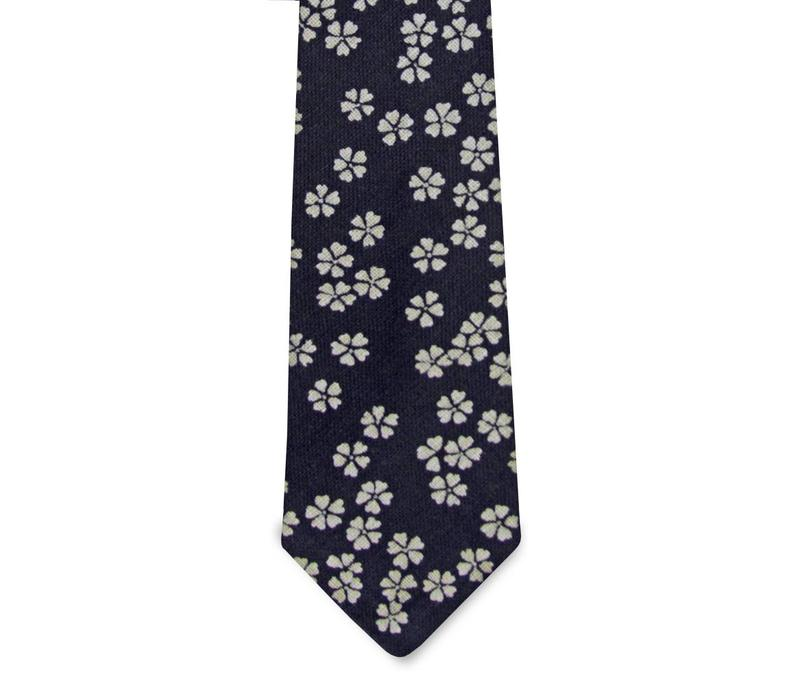 The Aubrey Cotton Floral Tie