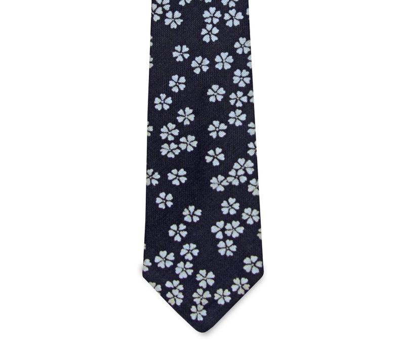 The Aubrey Cotton Floral Tie