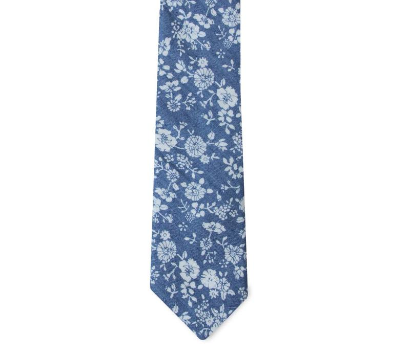 The Beal Floral Cotton Tie