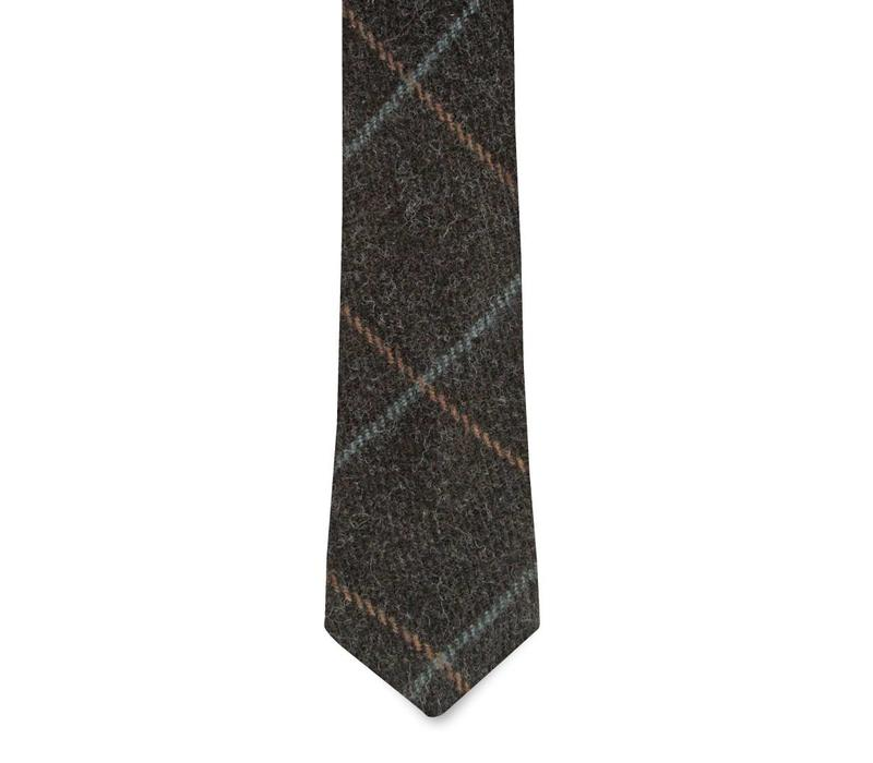 The Brewer Wool Tie