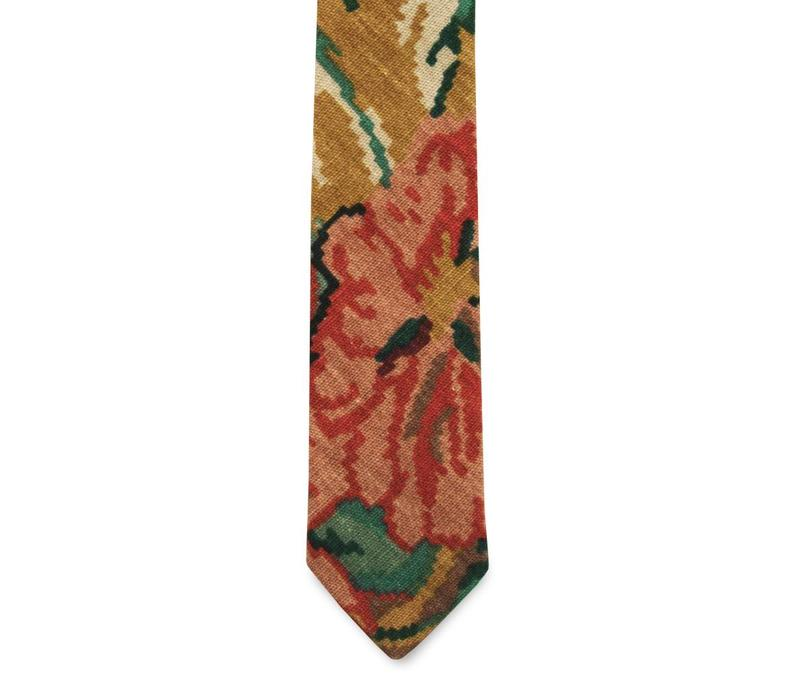 The Calderon Floral Cotton Tie