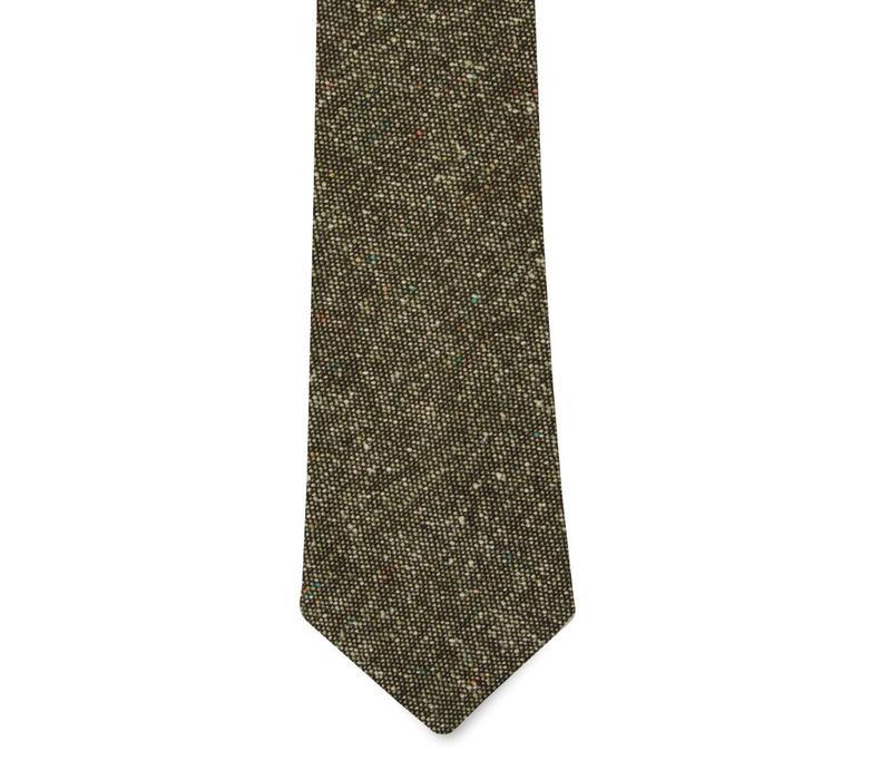 The Ortega Wool Tie