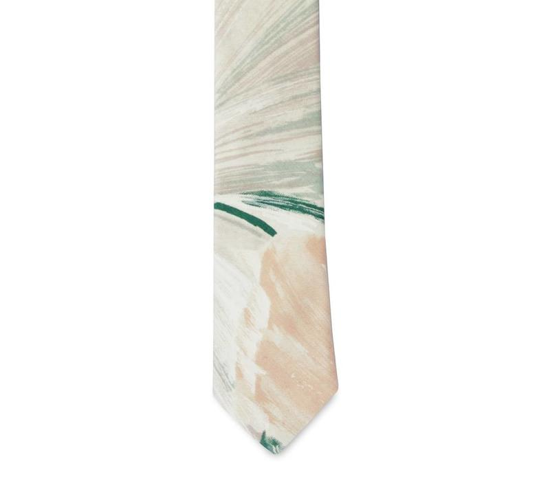 The Sierra Cotton Floral Tie