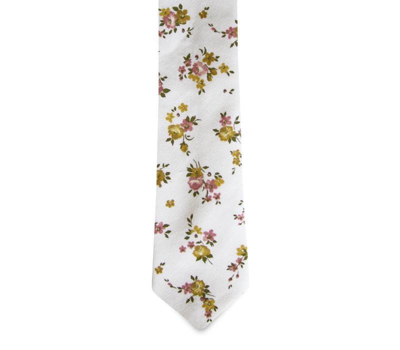 The Zia Floral Cotton Tie
