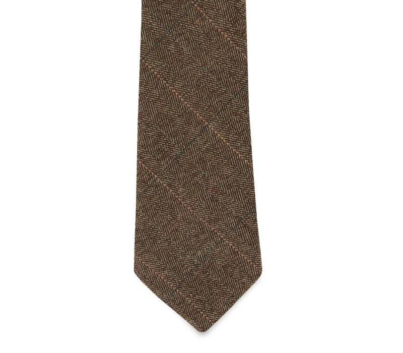 The Romero Wool Tie