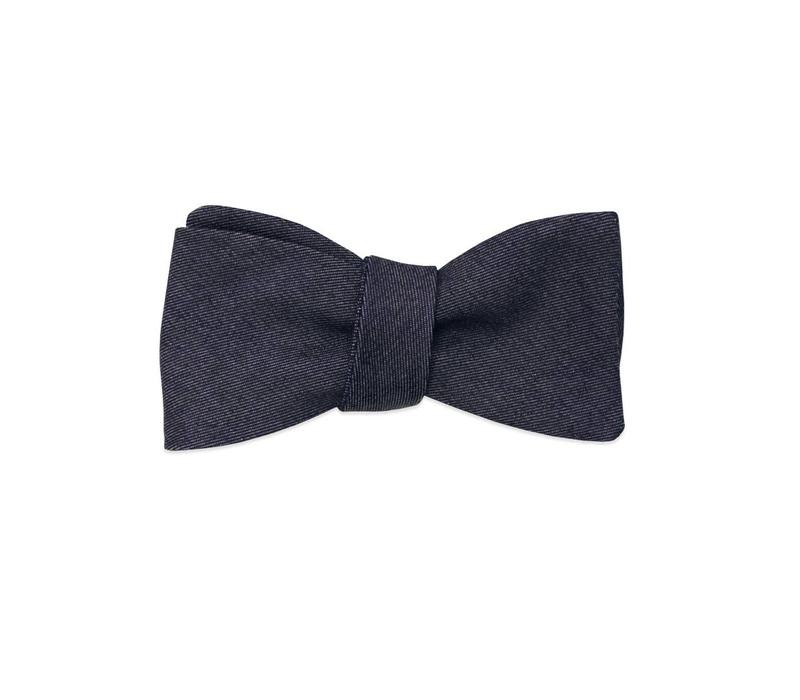 The Yankee Denim Bow Tie