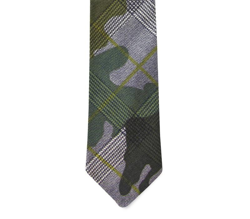 The NATO Cotton Camo Tie
