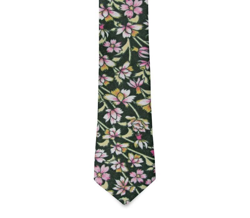 The Atkins Cotton Floral Tie