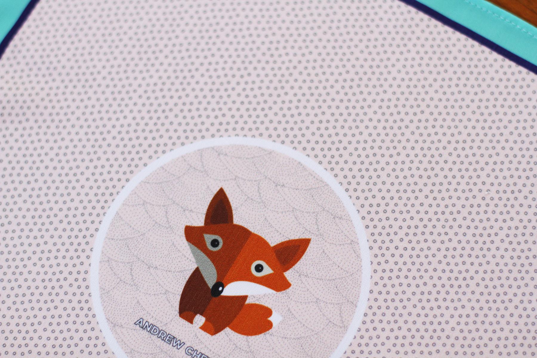 Pocket Square Clothing Custom Printed Fabric