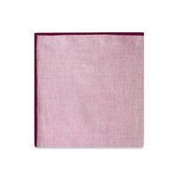 The Merrow (Maroon Chambray) Pocket Square