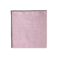 The Merrow (Brown Maroon) Pocket Square