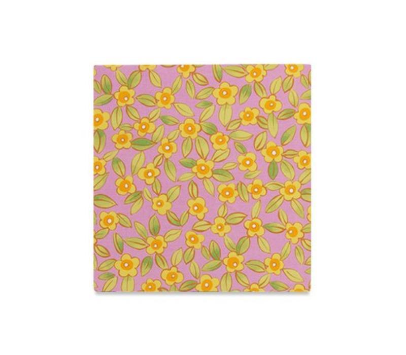 The Wyatt Floral Pocket Square