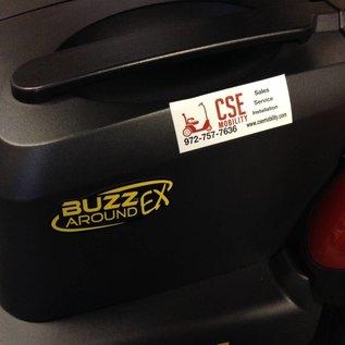 Golden Golden BuzzAround Extreme HD 3 Wheel Scooter GB118D
