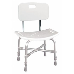 Drive Medical Drive Delux Bariatric Shower Chair W/Back
