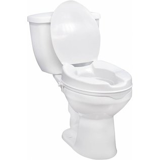 "Drive Medical Drive Raised Toilet Seat 4"" W/Lid"