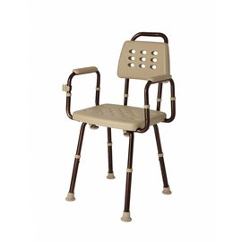Medline Elements Shower Chair With Back