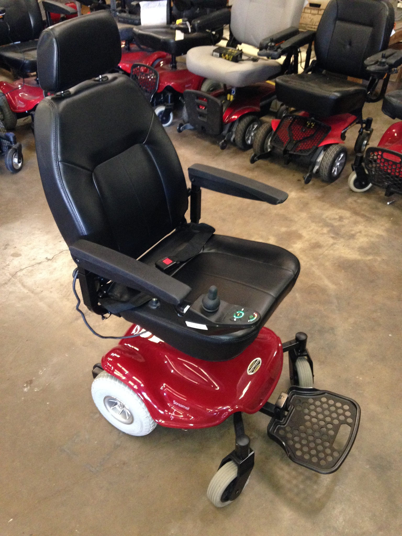 Used Shoprider Streamer Power Wheelchair
