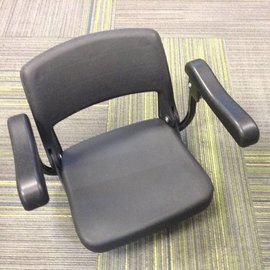 Luggie Scooters Used Seat with Armrests for Luggie Freerider FR168-41T