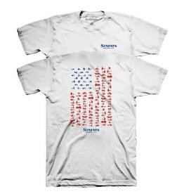 Simms USA Flies T-Shirt