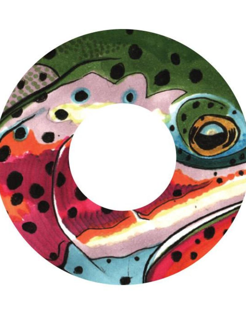 i.D 5/6 REEL DECAL RAINBOW - K.C. BADGER