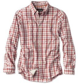Orvis Tech Plaid Work Shirt LS Stretch