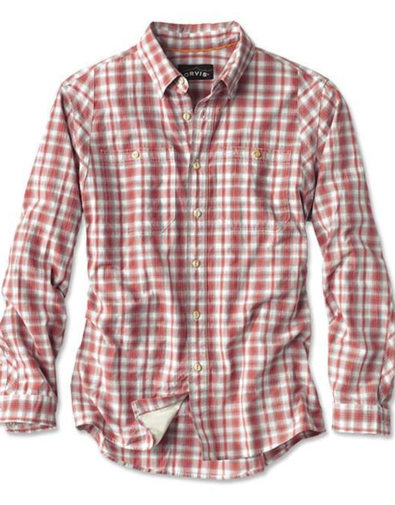 Orvis Tech Plaid Work Shirt LS Stretch
