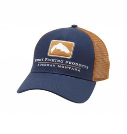 Simms Fishing F18 SIMMS TROUT ICON TRUCKER ADMIRAL BLUE