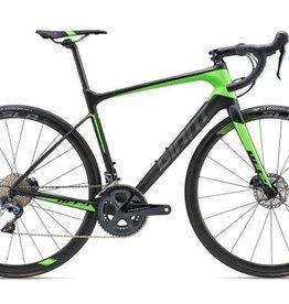Giant Giant 18 Defy Advanced Pro 1 LG Matte Carbon Smoke/Neon Green/Char