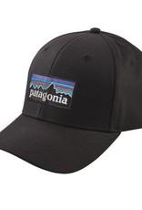 Patagonia P-6 Logo Roger That Hat Black ALL