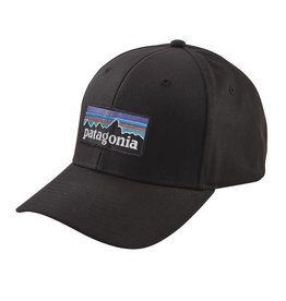 Patagonia P-6 Logo Roger That Hat Black ALL