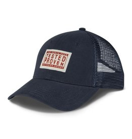 The North Face MUDDER TRUCKER HAT Urban Navy/Vintage White/Ketchup Red OS