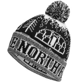 The North Face TNF FAIR ISLE POM BEANIE TNF Black OS