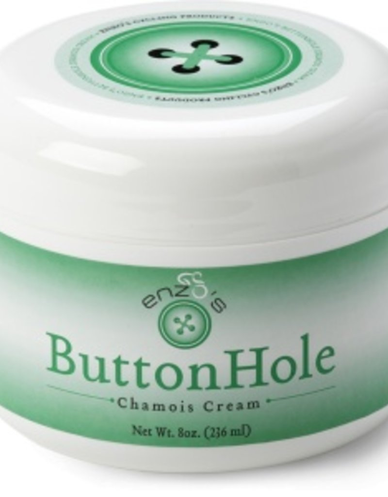 Enzo Cycling Lube Enzo's Buttonhole Chamois Cream 8oz