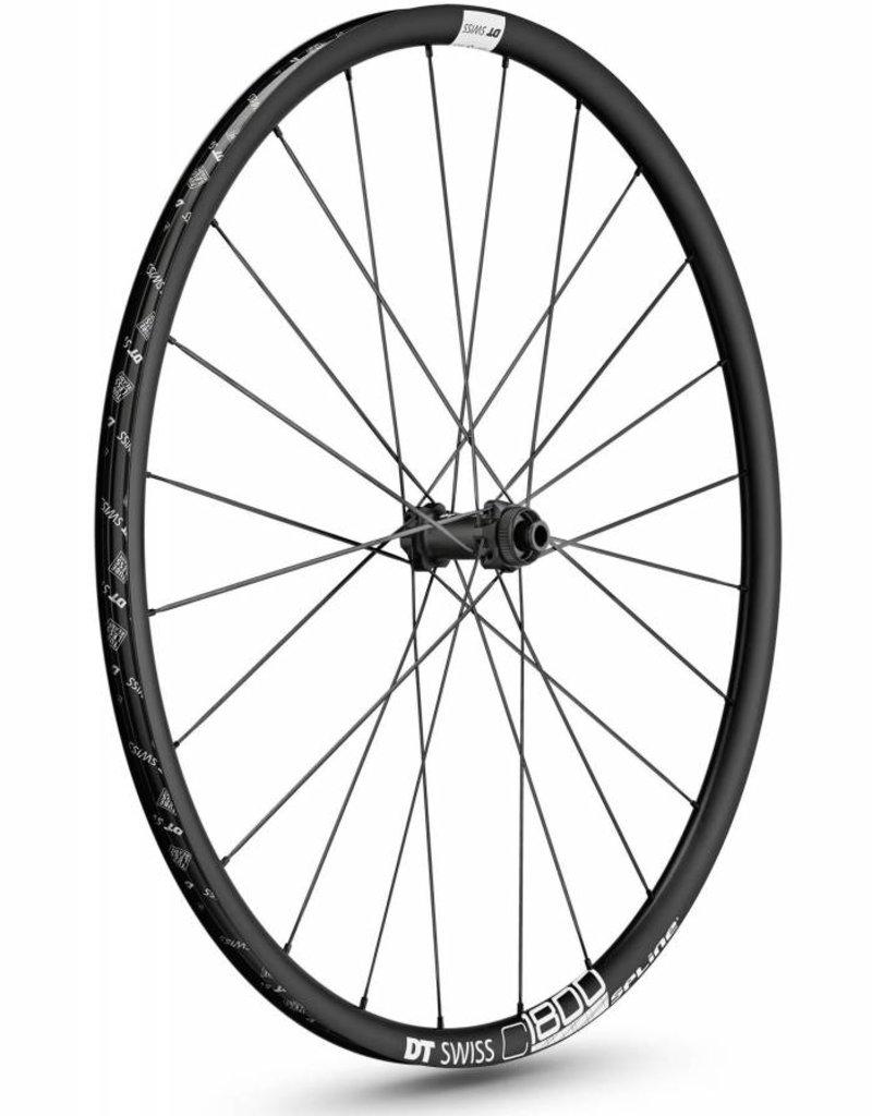DT Swiss Wheel DT Swiss C1800 db23 Spline Front Wheel: 700c, 12x100mm, Centerlock Disc