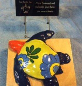 Ceramic Guardian Turtle