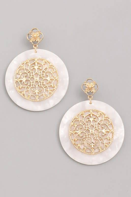 ec939946c1712 What are you looking for. Search. Home » Baroque Acrylic Earrings
