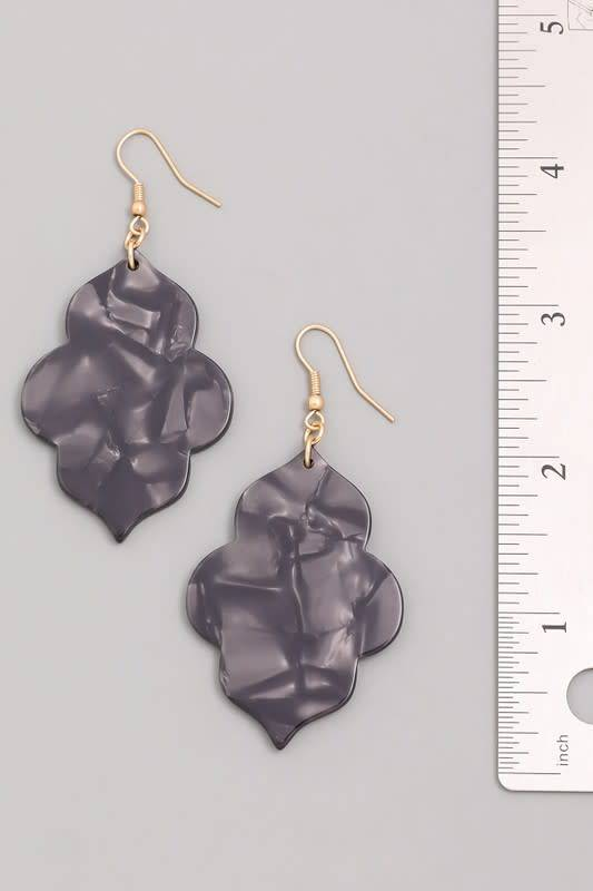 Acrylic Garden Earrings