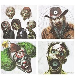"Crosman Crosman Zombie Paper Targets 20 pack (5 of each design) 9.75""x9"""